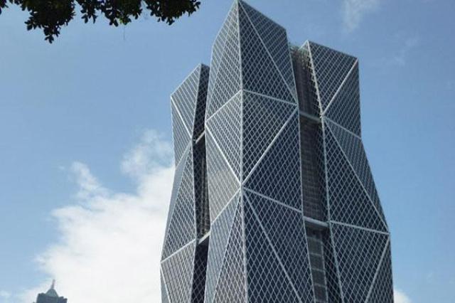 高雄中鋼大樓採用Pyrobel阻熱型防火玻璃