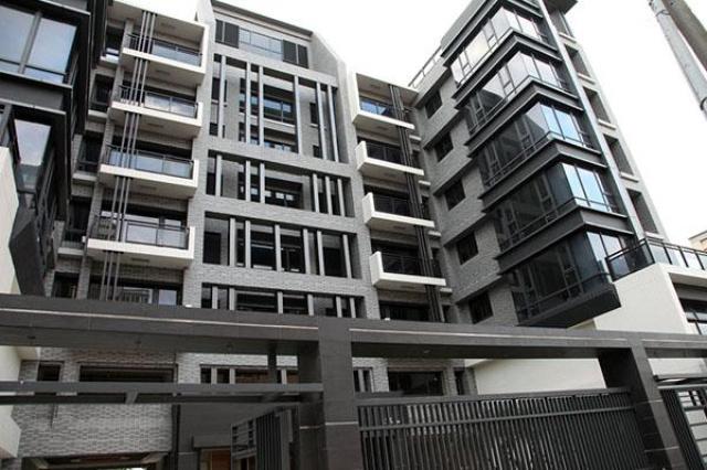 桃園龜山住宅採用育璽雙中空懸膜節能玻璃