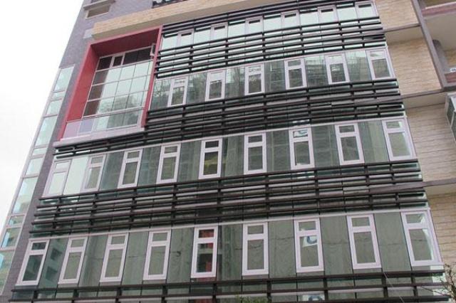 基隆信義區公所 全建築使用 育璽雙中空懸膜節能玻...